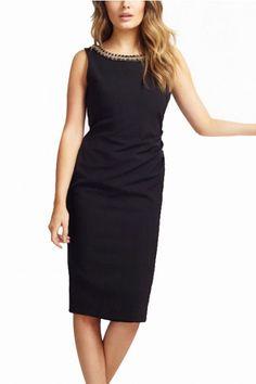 LUCLUC Elegant Scoop V Back Black Midi Dress http://www.lucluc.com/dresses/evening-dresses/lucluc-elegant-scoop-v-back-black-midi-dress.html?mark=tlr0120