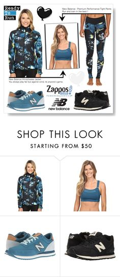 """""""Contest Entry : Run the World in New Balance"""" by drinouchou ❤ liked on Polyvore featuring New Balance, New Balance Classics and NewBalance"""