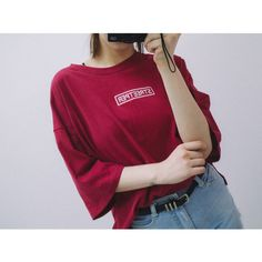 Street-per T (t1048) - 韓国ファッション通販【 GIRLS RULE ガールズルール】