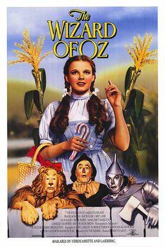 "Metro Goldwyn Mayer  ""The Wizard of Oz"" Film Poster 1939"