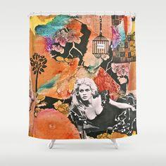 Free Spirit Shower Curtain by LadyJennD