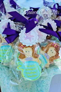 Mermaid Party Favor (ASK ZENAIDA)got find someone to make me these cookies for bella's 3rd birthday