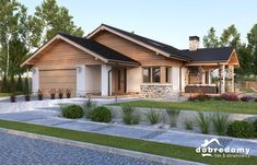 Beautiful House Plans, Beautiful Homes, Radha Soami, My House Plans, House Front, Home Fashion, My Dream Home, Exterior Design, Bungalow