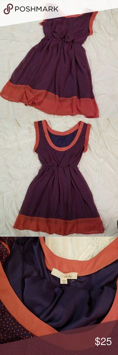 Lush dress Gently used dress. Drapes nicely on the body and has a nice flow. Lush Dresses Midi