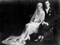 Wedding of Nancy and Clarrie Wieting, Brisbane, ca. 1925