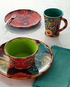 16-Piece Eden Ranch Dinnerware Service MULTI COLORS Tracy Porter for Poetic Wanderlust  & Pimpinelli 16-Piece Novus Dinnerware Service   Dinnerware Set ...