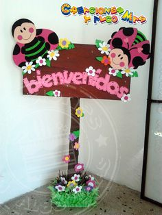 Creaciones y Algo Mas: FIESTA MOTIVO MARIQUITA - PARTY LADYBIRD - FESTA DE JOANINHA Decoration Creche, Class Decoration, School Decorations, Foam Crafts, Diy And Crafts, Crafts For Kids, Paper Crafts, Diy Y Manualidades, Math Work