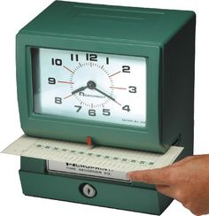 Acroprint 150RR4 Heavy Duty Automatic Time Recorder for M…