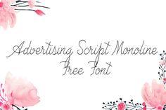 DLOLLEYS HELP: Advertising Script Free Font