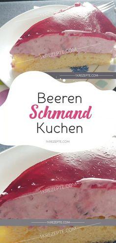 Beeren-Schmand-Kuchen - Einfache Rezepte snacks on the go Beeren-Schmand-Kuchen - Einfache Rezepte Healthy Dessert Recipes, Easy Dinner Recipes, Healthy Snacks, Cake Recipes, Easy Meals, Simple Recipes, Dinner Healthy, Healthy Smoothies, Family Meals