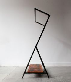 """The """"Greta"""" clothing rack designed by Sit and Read for the Neighbour store in Vancouver, BC."""