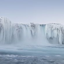 Fototapete - Panoramic Godafoss