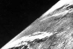 Seventy years ago today, humans took a photo of our home planet as seen from space for the first time. The image itself is unassuming. Taken from aboard a Nazi-built V2 rocket on Oct. 24, 1946, the black and white photo shows a smattering of clouds casting shadows down upon our planet.  SEE ALSO: NASA
