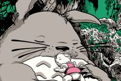 Sneak peek at one of the many new screen prints by Joshua Budich for his anime inspired solo show, opening Saturday October at Spoke Art San Francisco. Spoke Art, Studio Ghibli, Screen Printing, San Francisco, Art Gallery, Draw, October 4th, Wallpaper, Disney Characters