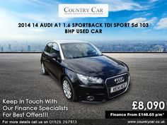 Used Audi cars in Warwick from Country Car Audi A1 Sportback, Group Insurance, Used Audi, Digital Radio, Sport Seats, Audi Cars, Rear Window, Rear Seat, Amazing Cars