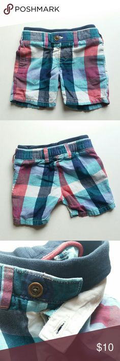 Baby Gap shorts Baby Gap 12-18 month shorts, red, white, and blue (and lighter blue) button closure with sweatpant type waist. baby Gap Bottoms Shorts