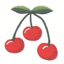 Cherries FREE Design from Embroider This!