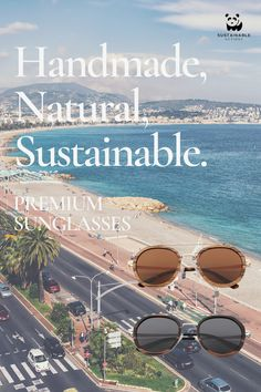 Be a style icon this summer with our premium handmade sunglasses! Sustainability, Bamboo, Action, Shades, Earth, Sunglasses, Nature, Summer, Handmade