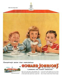 1955 Howard Johnson's ad | Flickr - Photo Sharing!