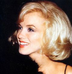 Marilyn Monroe at a benefit for the Actors Studio, 1961.
