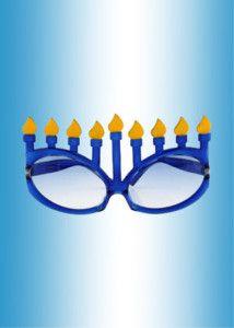 Hanukkah Glasses, love it!