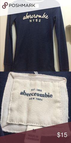 Abercrombie polo shirt Color Jean Blue Abercrombie & Fitch Tops