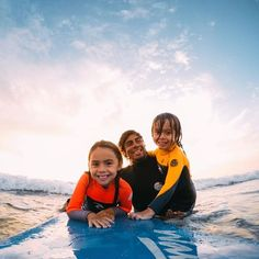 """@shreddyhb, #father + pro #surfer, sharing the joys of his passion with his two favorite humans. Driven by the simple credo: """"surf and help others"""", Teddy is an inspiring figure for dads and surfers around the world. • • • #GoProSurf #GoProFamily #GoProGrom"""