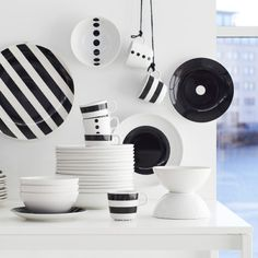 tickar graphic patterns dinnerware and scandinavian. Black Bedroom Furniture Sets. Home Design Ideas