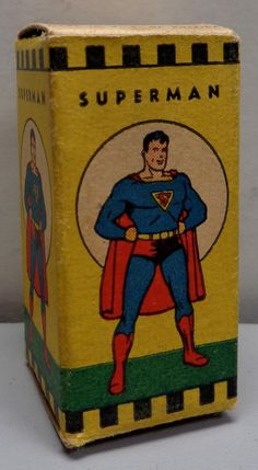 DC Comics Adventures of SUPERMAN 1940s Acme filmstrip available @QualityComicsAmerica