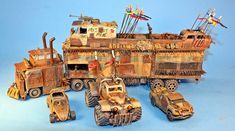 Hot Wheels Mad Max War Rig conversion by billking.deviantart.com on @DeviantArt