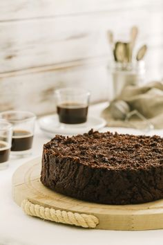 Chocolate and cocoa bread pudding cake - Italian recipe - OPSD blog