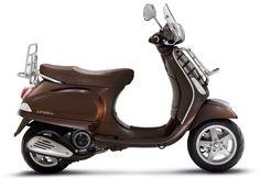 Chocolate Brown Vespa