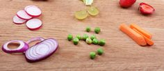 Trucos chinos para cortar vegetales