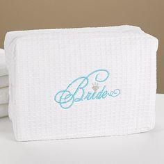 Bride Cosmetic Bag weddingneeds.carlsoncraft.com