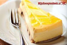 Cheesecake with lemon Lemon Cheesecake, Pastry Cake, Cheesecakes, Tiramisu, Cookies, Desserts, Citroen Cheesecake, Truffels, Bosch