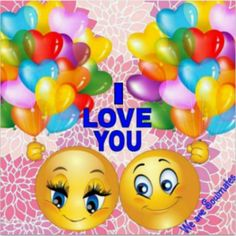 I love you Smileys, I Love You Husband, L Love You, Love Photos, Cute Pictures, Smiley Emoji, Smiley Faces, Love Smiley, World Emoji Day