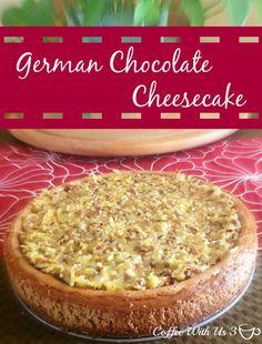 German Chocolate Cheesecake | Coffee with us 3