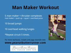 circuit workout from Peanut Butter Runner at http://www.peanutbutterrunner.com/