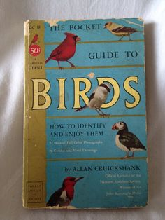 BOOK SALE Vintage Book The Pocket Guide to Birds by FloridaFinders, $3.00