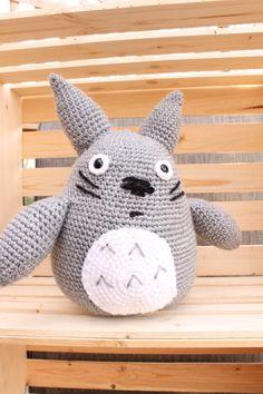 Large Totoro Inspired Stuffy/ Totoro Plushie/ Plushie/ Crochet Plushie