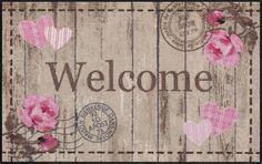 Läufer bunt, B/L: 75x120cm, 7mm, »Welcome Roses«, fußbodenheizungsgeeignet, strapazierfähig, rutschhemmend, Salonloewe Jetzt bestellen unter: https://moebel.ladendirekt.de/heimtextilien/teppiche/laeufer/?uid=e5c08ed1-a3ae-55eb-9039-514264400f36&utm_source=pinterest&utm_medium=pin&utm_campaign=boards #laeufer #heimtextilien #teppiche