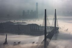 The Fog and Mist in Hong Kong Photo by Edward Tin — National Geographic Your Shot