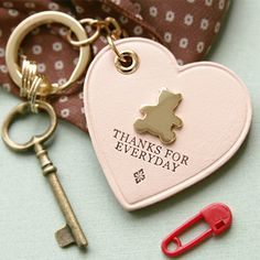 Cute key ring for special gift ideas. Pastel color and animal shaped. Korean stationery.    http://www.morecozy.com