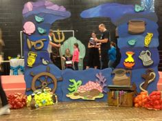 ariel's grotto on stage - Google Search
