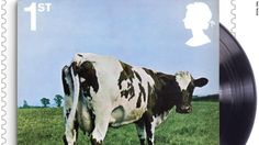 Pink Floyd album cover by Hipgnosis Storm Thorgerson (Atom Heart Mother, Pink Floyd Album Covers, Rock Album Covers, Classic Album Covers, Music Album Covers, Storm Thorgerson, Atom Heart Mother, David Gilmour, Progressive Rock, Led Zeppelin