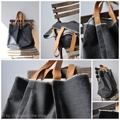 Bags, bags, bag tutorials and patterns.  So many bags!