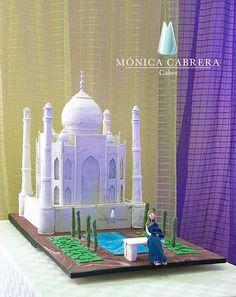 Pastel Taj Mahal Monica Cabrera Cakes www.monicacabreracakes.com Puebla, México