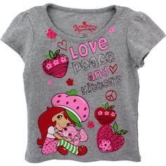Strawberry Shortcake Little Girls' Short-Sleeve Tee, Grey, 2T Strawberry Shortcake http://www.amazon.com/dp/B00AYETXRI/ref=cm_sw_r_pi_dp_qEyOub1HDH1MN