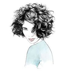 Because curls come with their own cutting code