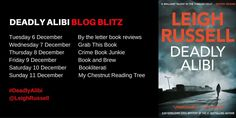 🎉🎉*Happy Publication Day*🎉🎉 Over the moon to be taking part in Leigh Russell's Deadly Alibi blog tour! Today I have a wonderful guest post from the author on writing a series! But first, lets find out a little more about …